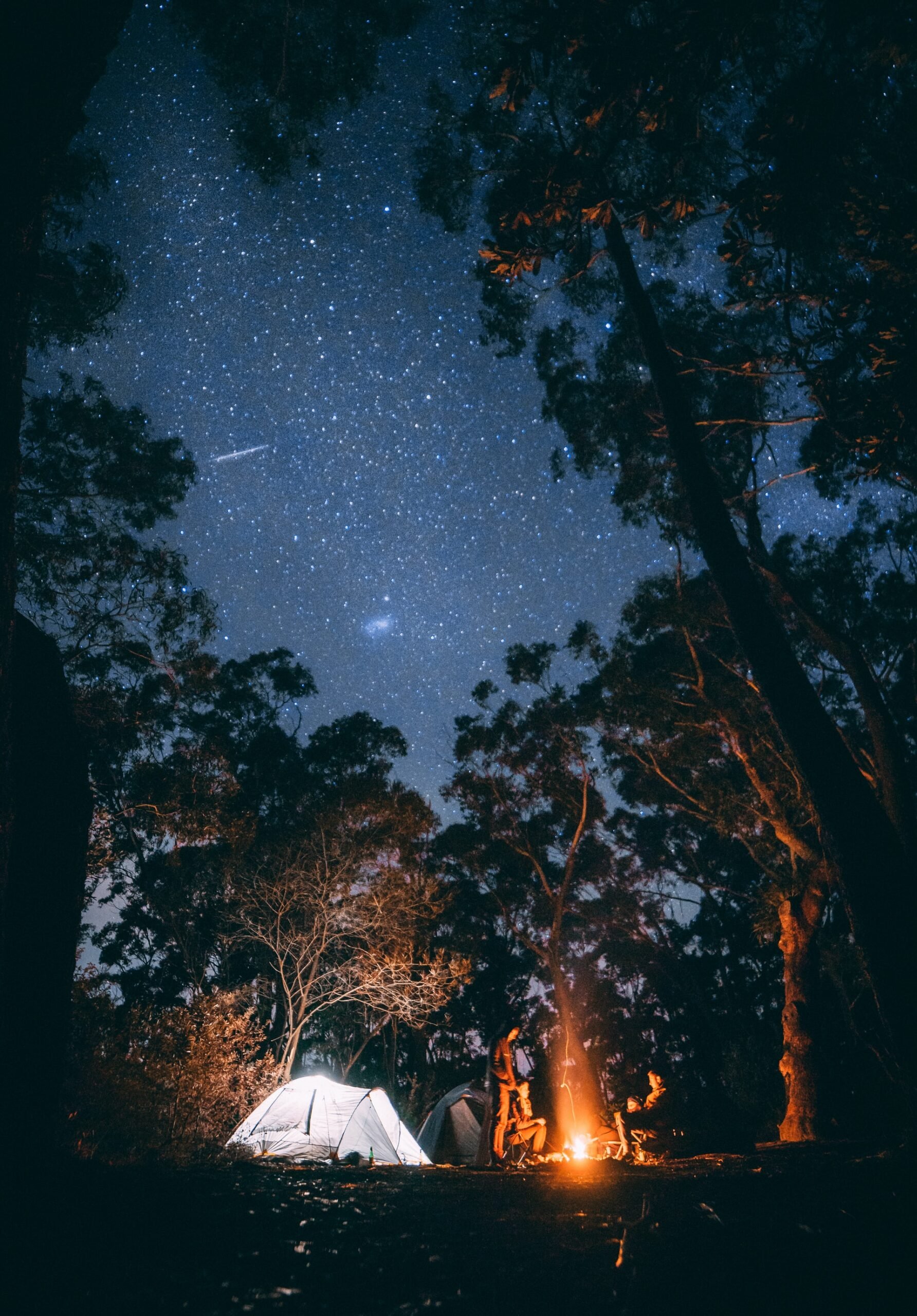 Camping in Australia's Blue Mountains (photo: Jonathan Forage)