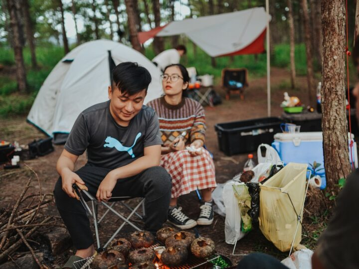 Camping in Vietnam (photo: Dung Anh)