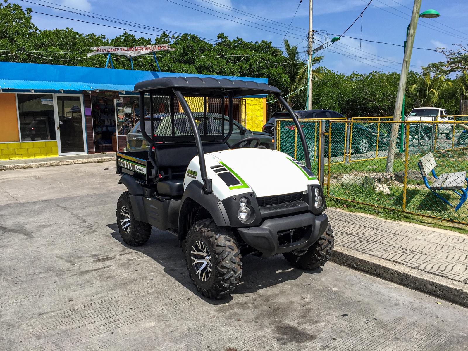 My golf cart rental