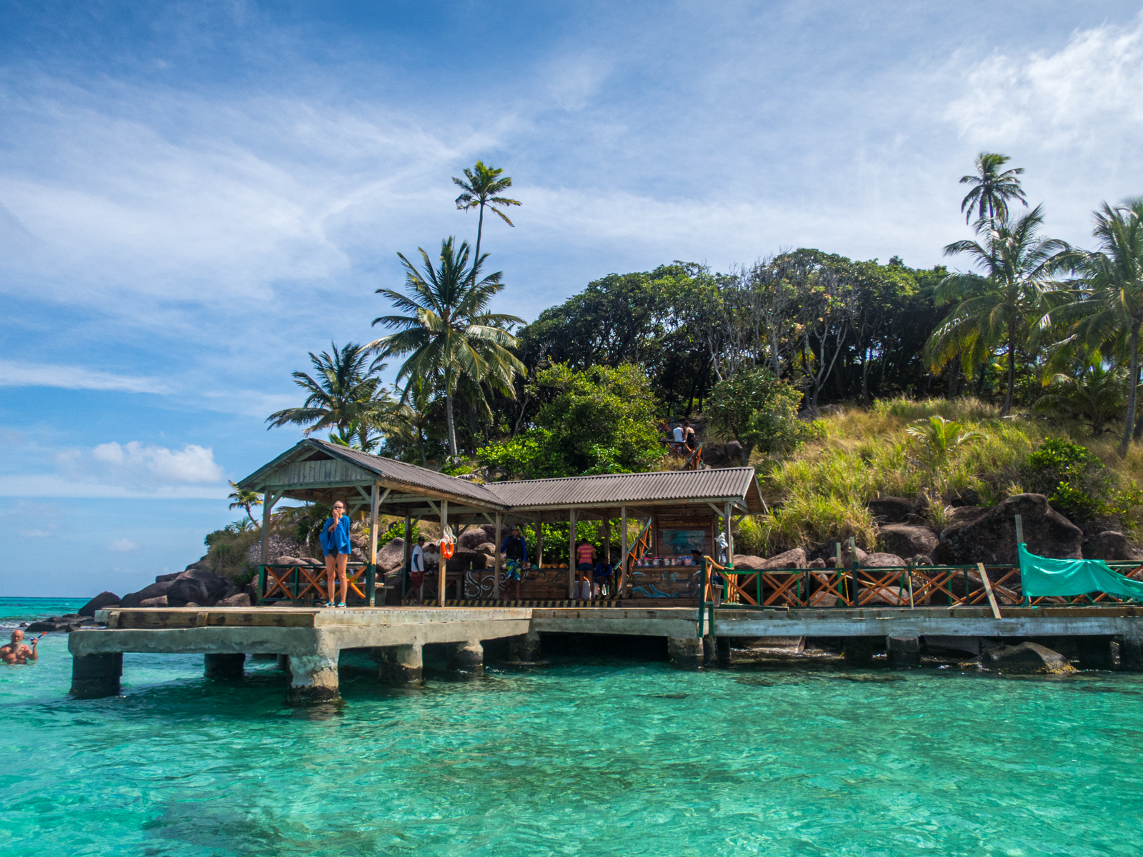 Crab Cay dock