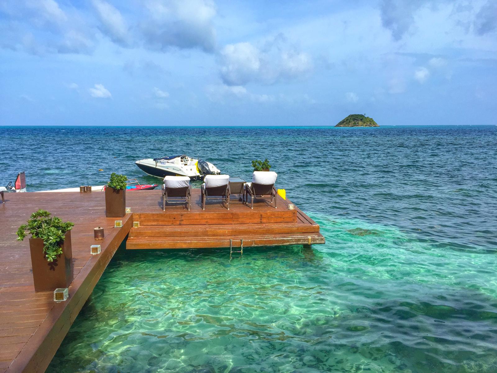 Deep Blue Hotel dock