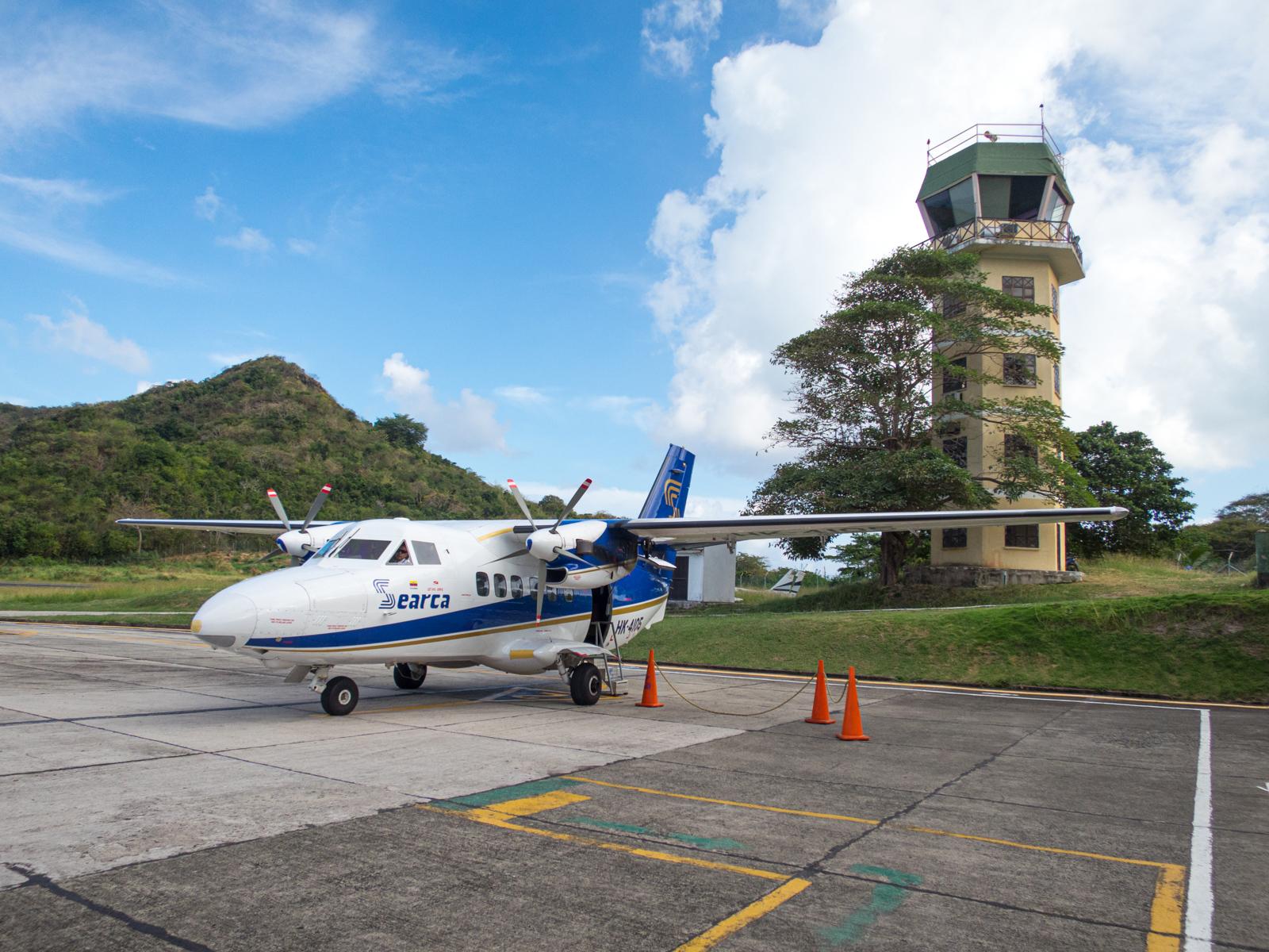Providencia island airport