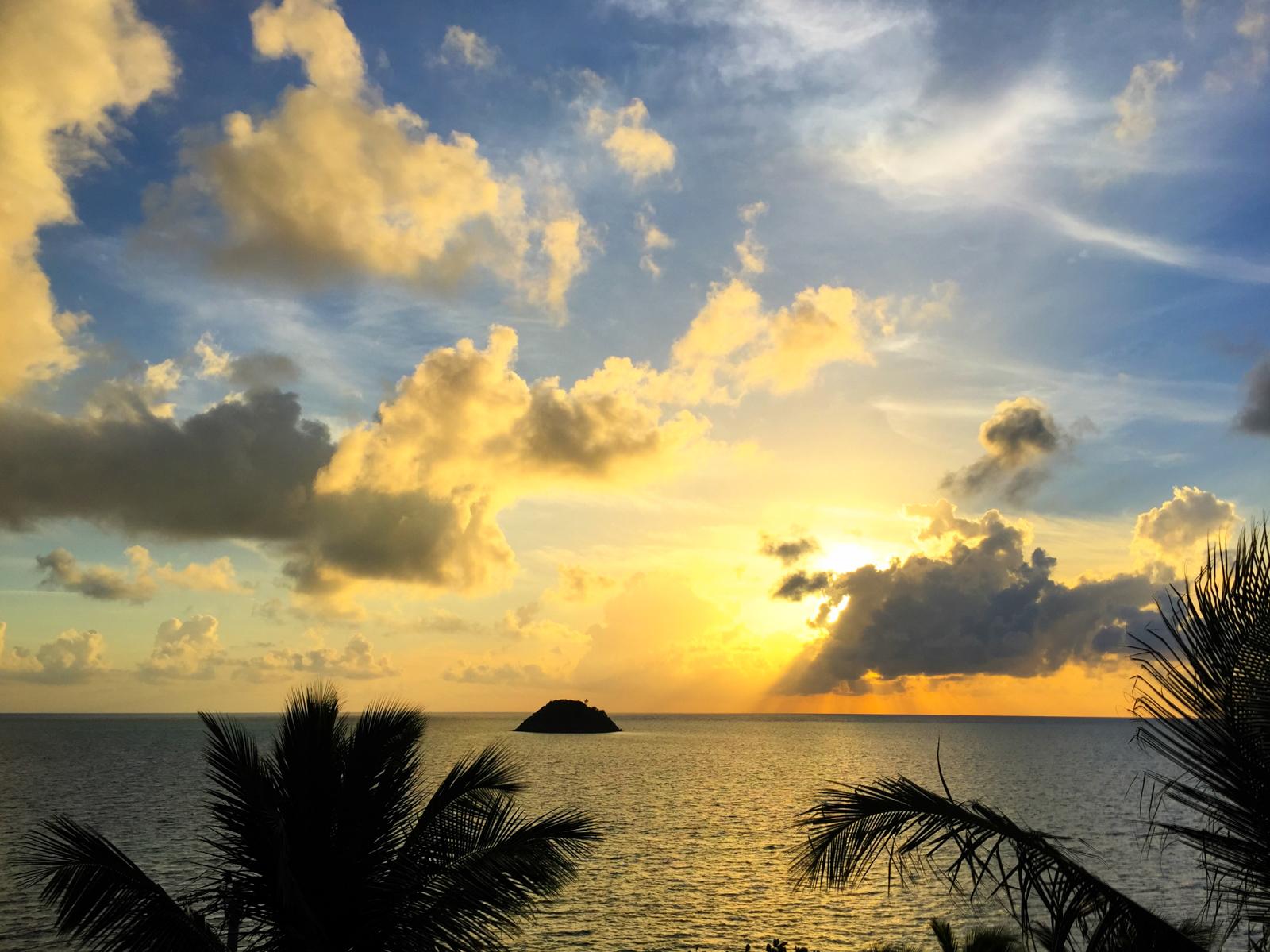 Sunrise in Providencia