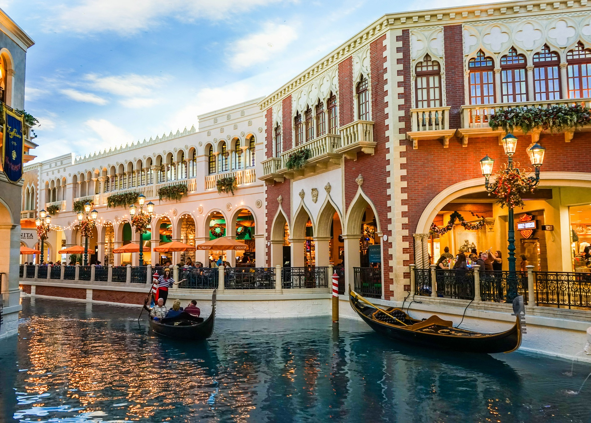 Venetian hotel in Las Vegas (photo: Michelle Maria)