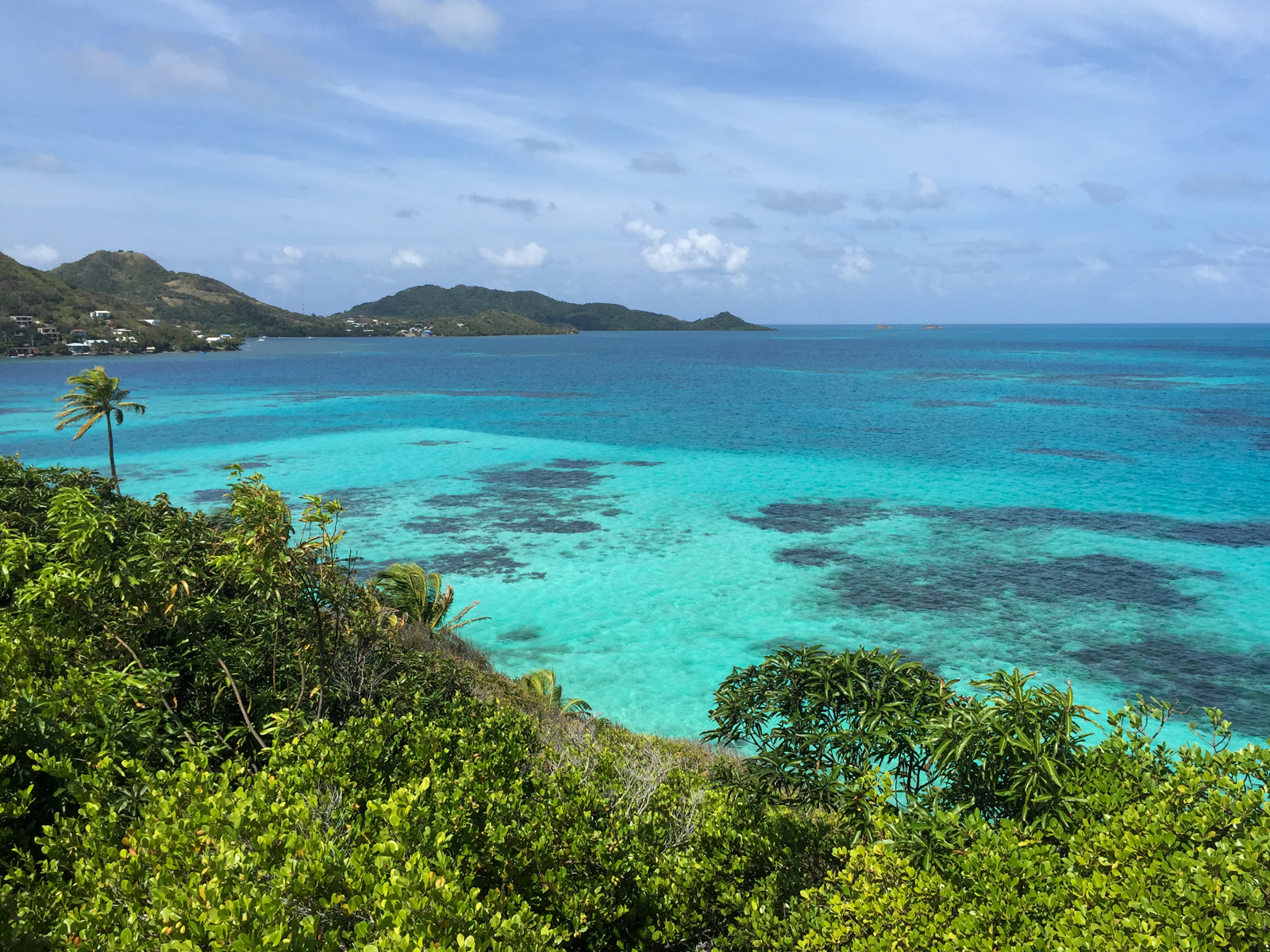 View of Providencia from Crab Caye