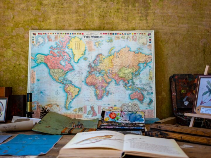 World map (photo: Nicola Nuttall)