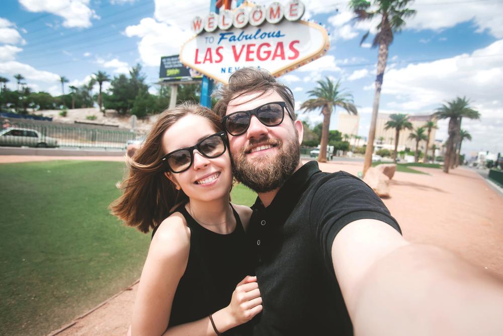 Las Vegas honeymoon