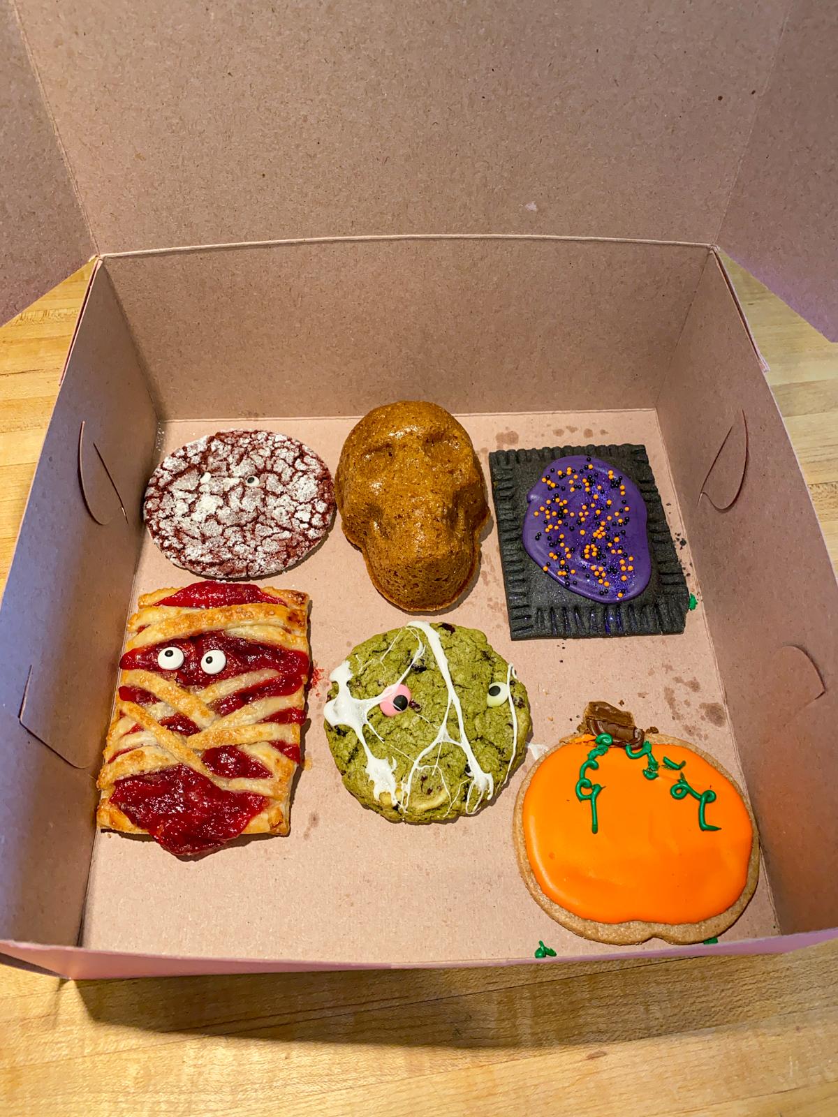 Halloween pastries
