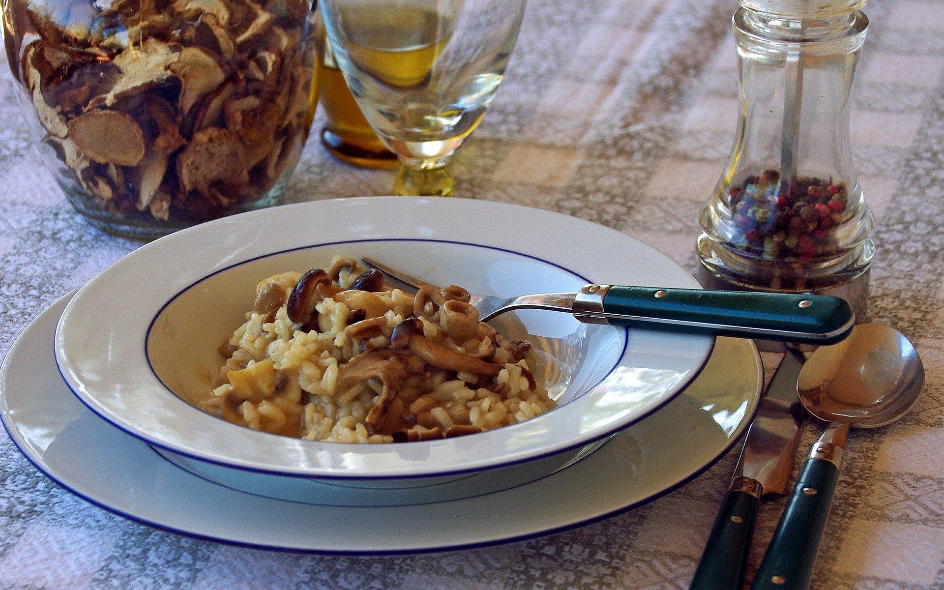 Mushroom risotto (photo: Valter Cirillo)
