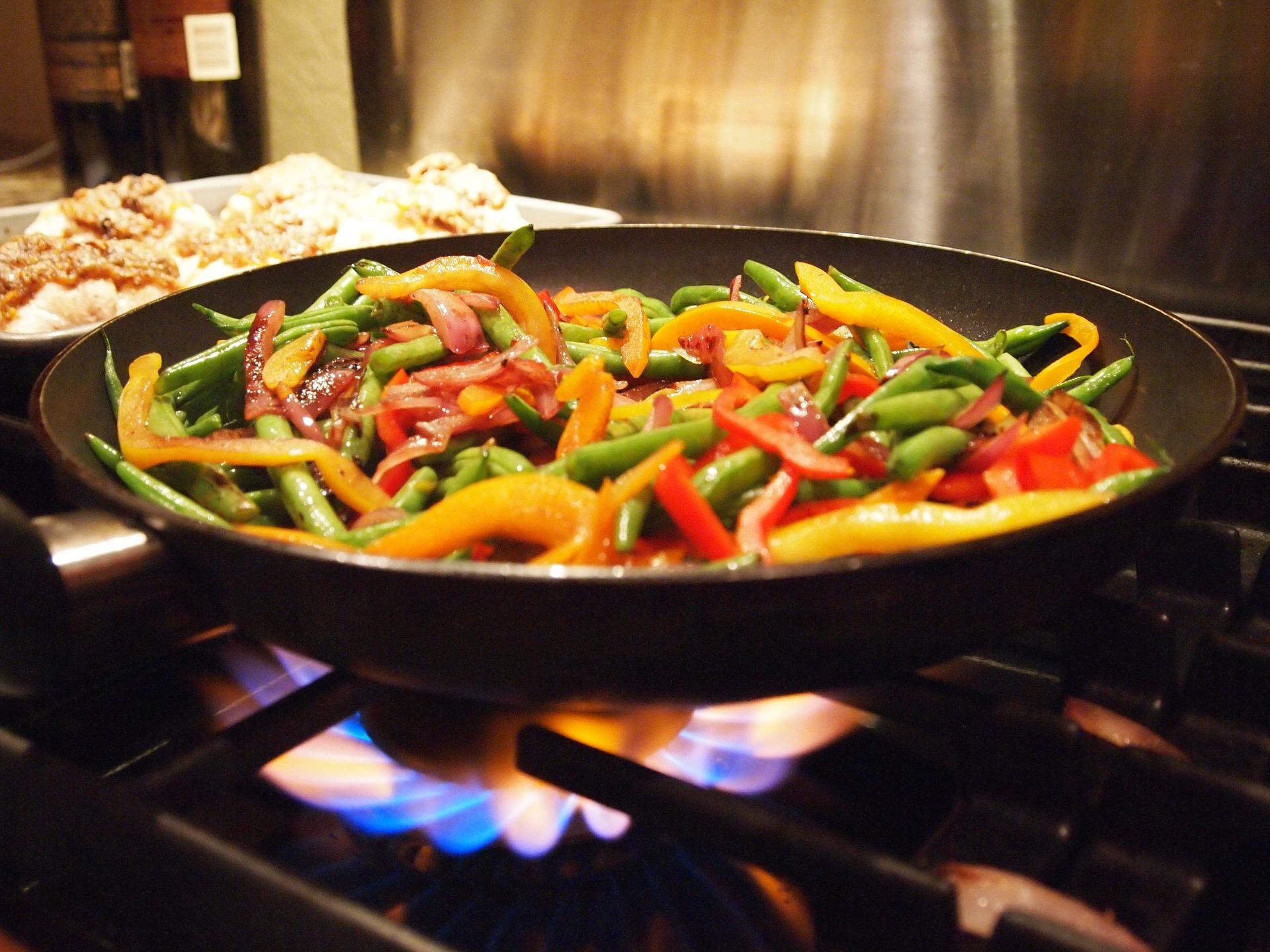 Stir fry (photo: Cara Mia Gudelis)