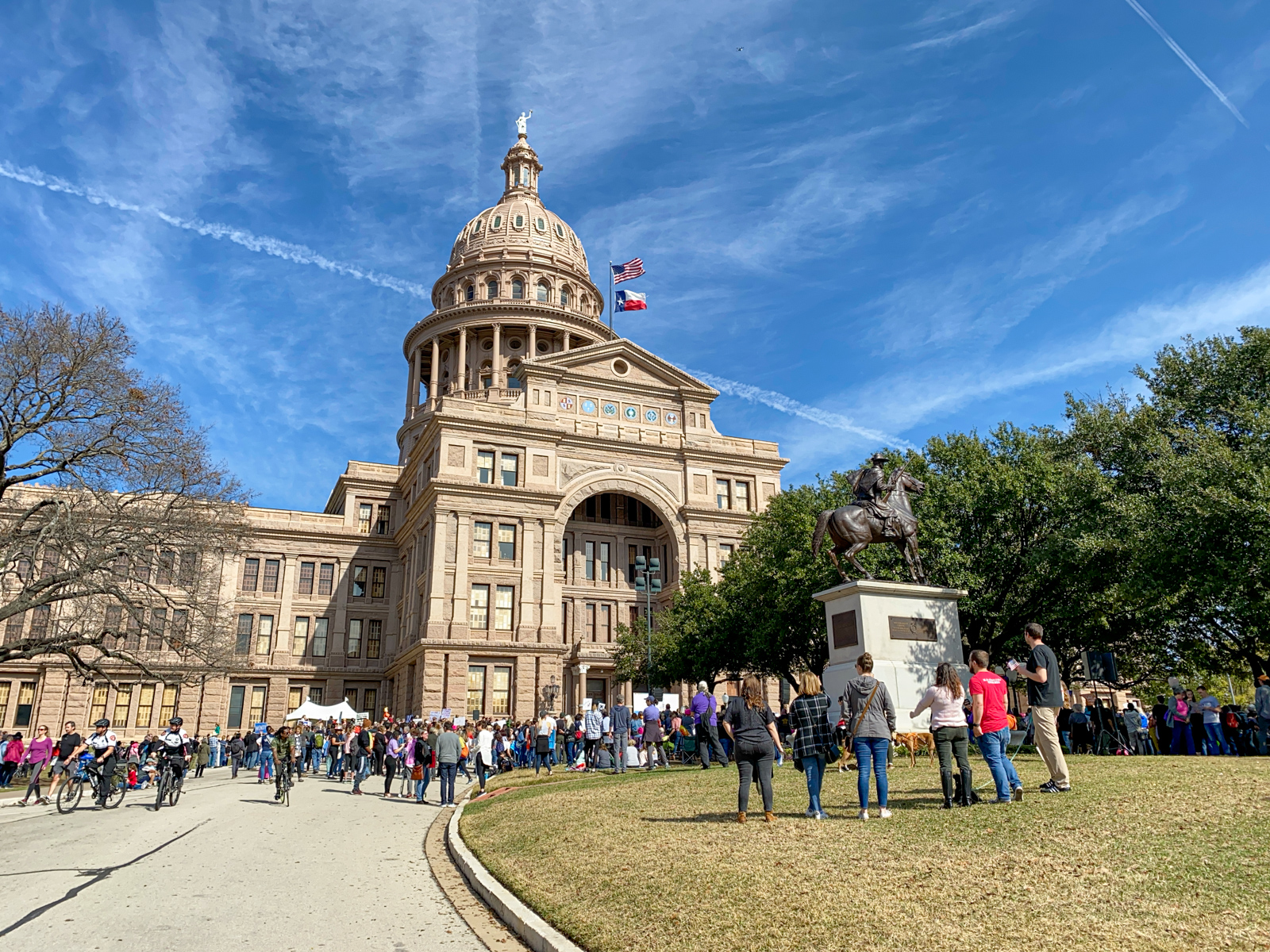 Women's March 2020 at Texas State Capitol
