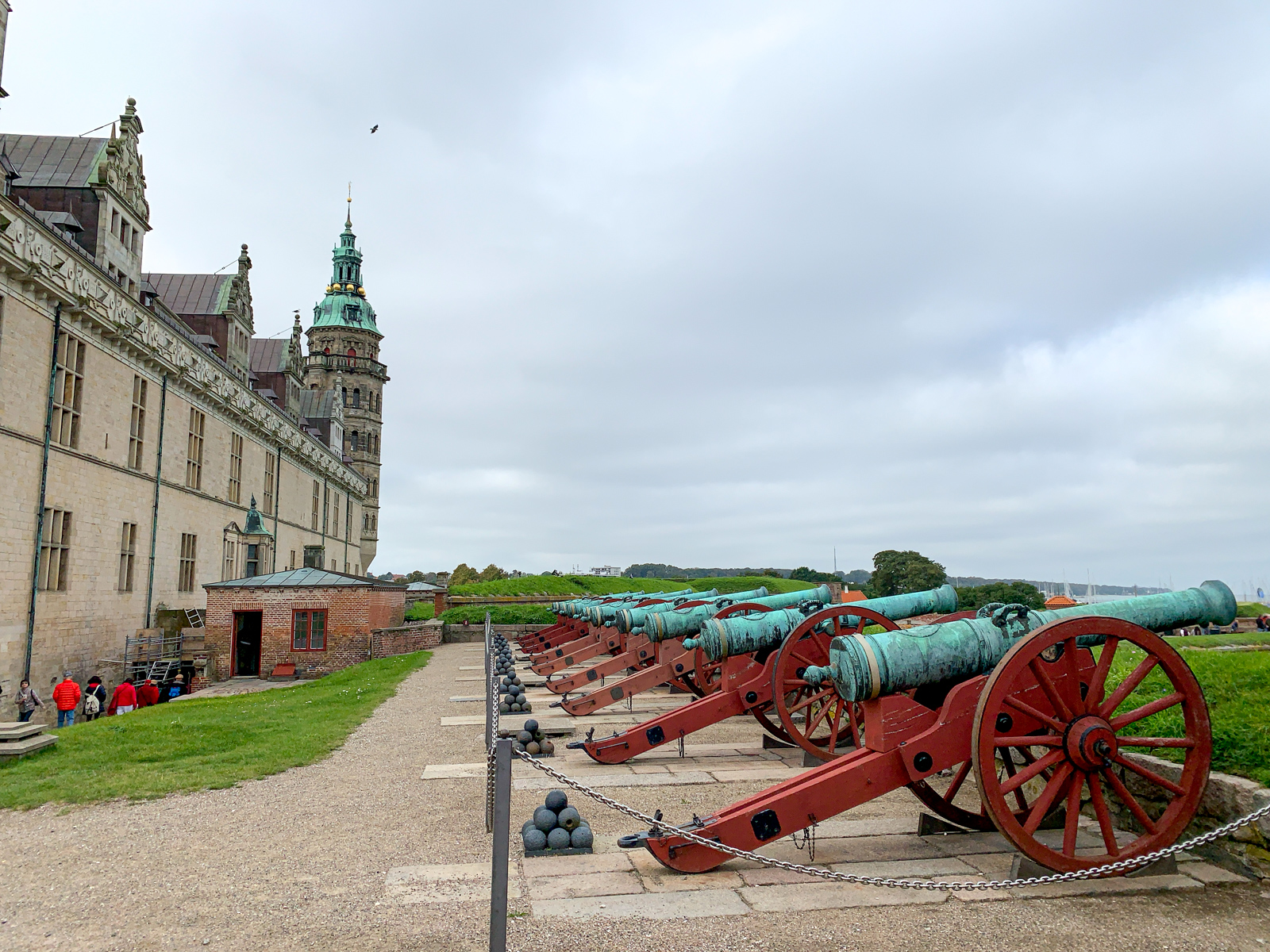 Castle defenses