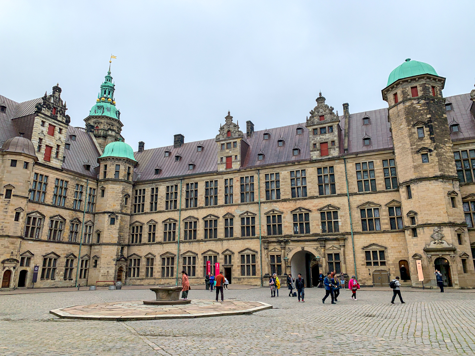 Courtyard at Kronborg Castle