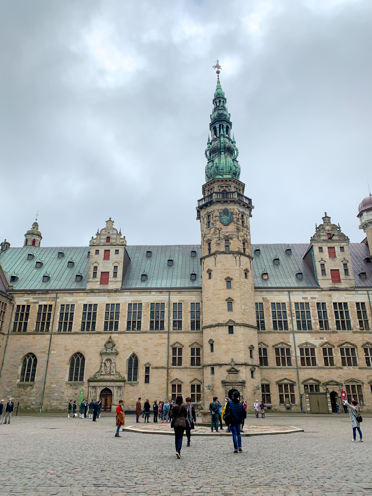 Kronborg Castle courtyard