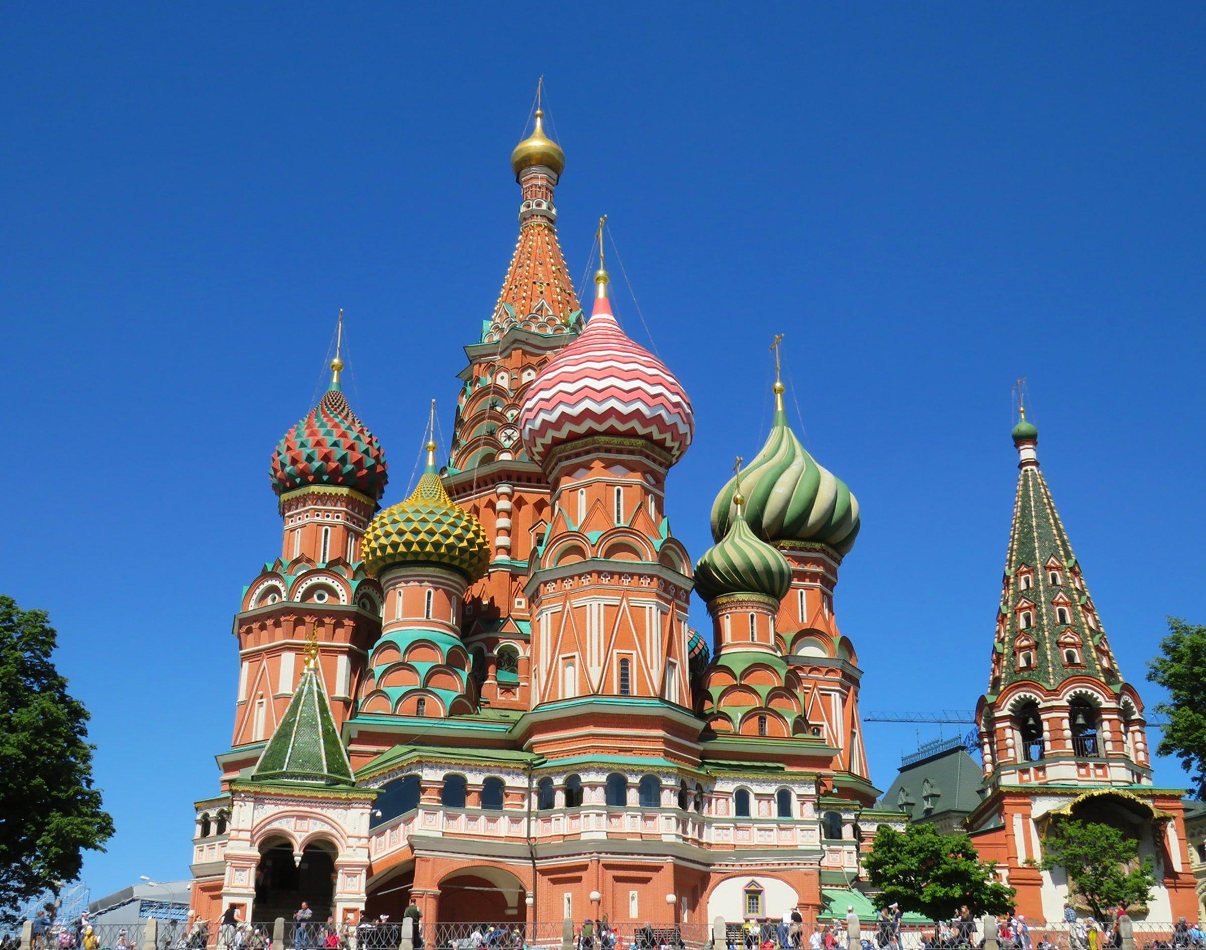 St. Basil's Cathedral, Red Square (photo: Anastasiya Romanova)
