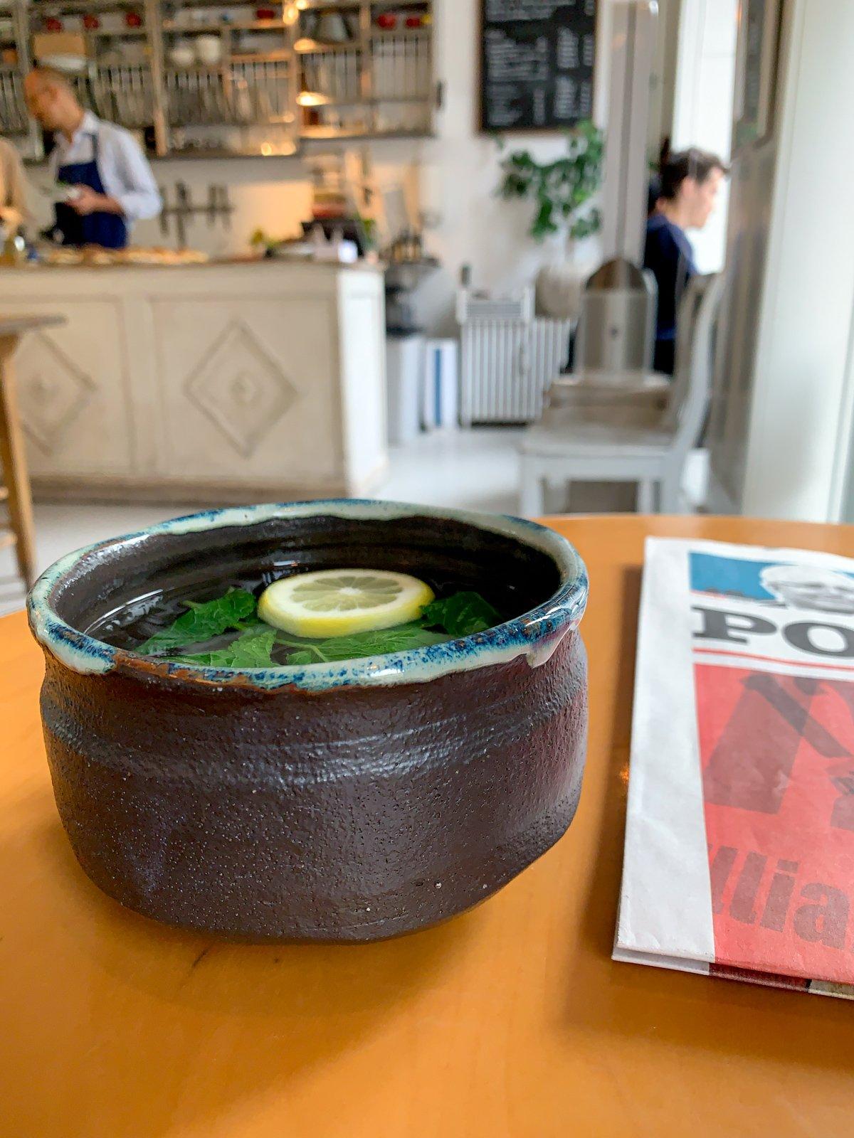 Herbal tea (photo: Dave Lee)