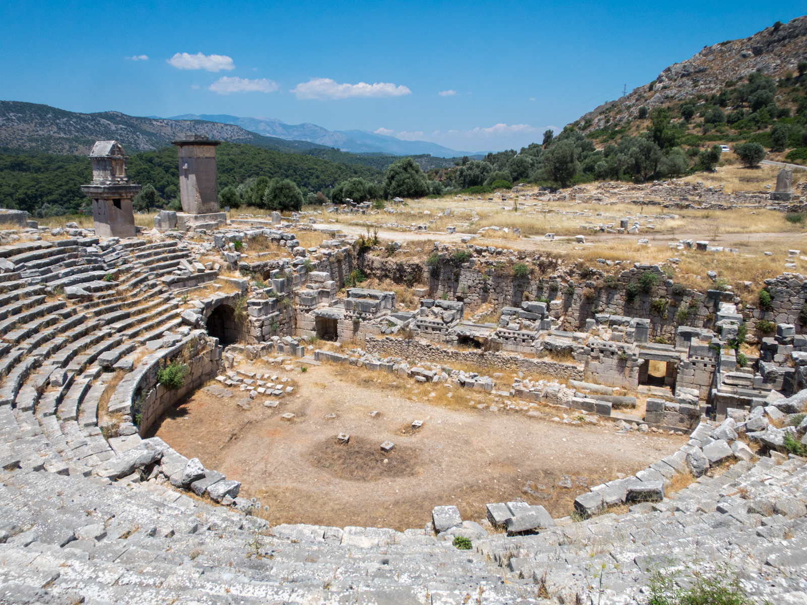 Xanthos amphitheater