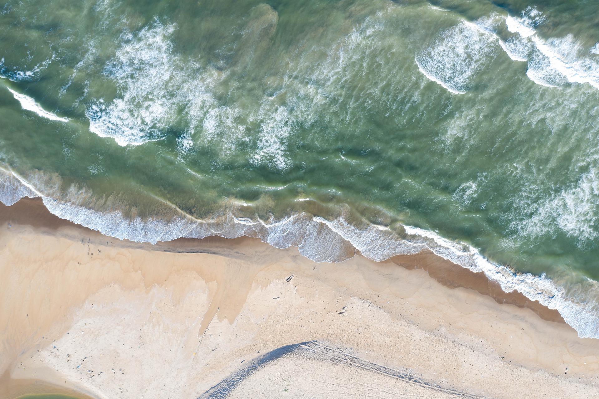 Beach in Chennai (photo: socialsudo)