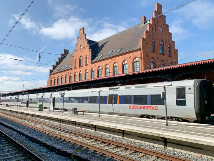 A train station in northern Denmark (photo: David Lee)