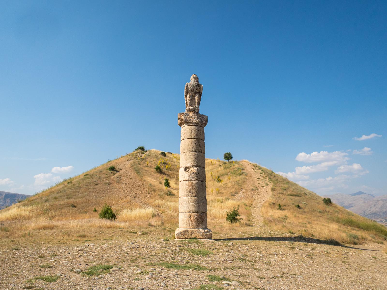 Karakus Tumulus with Doric column