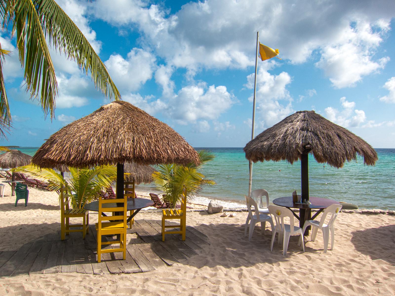 Playa Palancar on Cozumel island