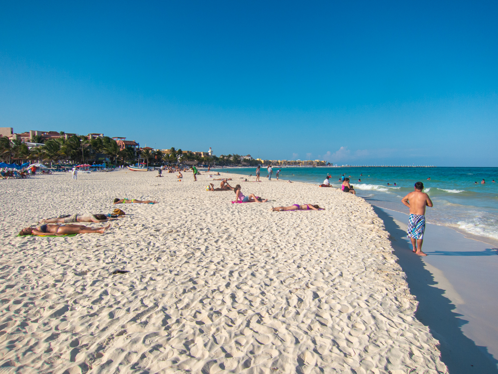Playa del Carmen, one of the best beaches in the Riviera Maya