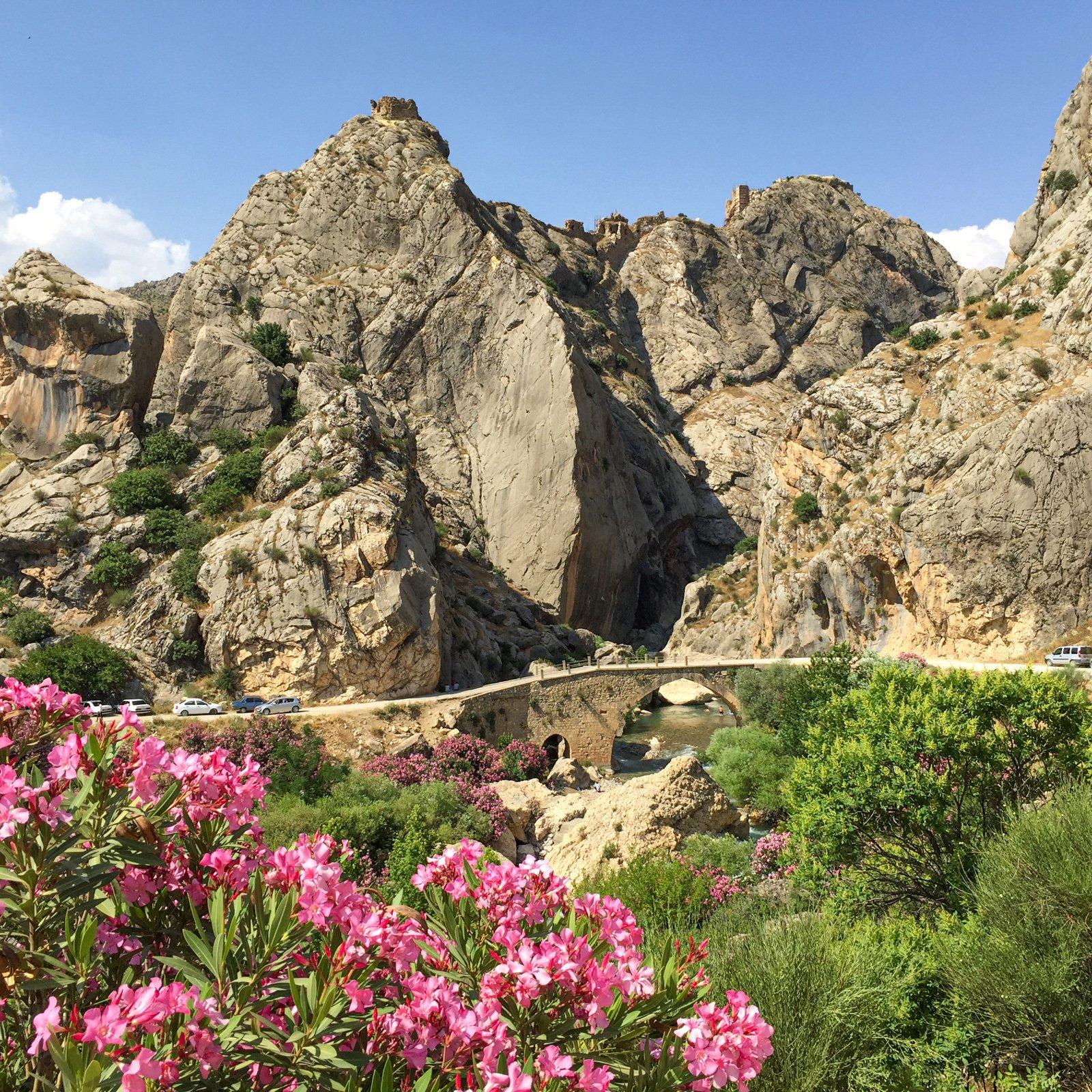 Yeni Kale Fortress (atop mountain) (atop mountain)