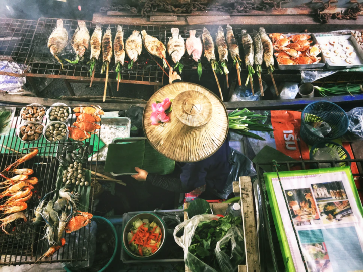 Asian food vendor