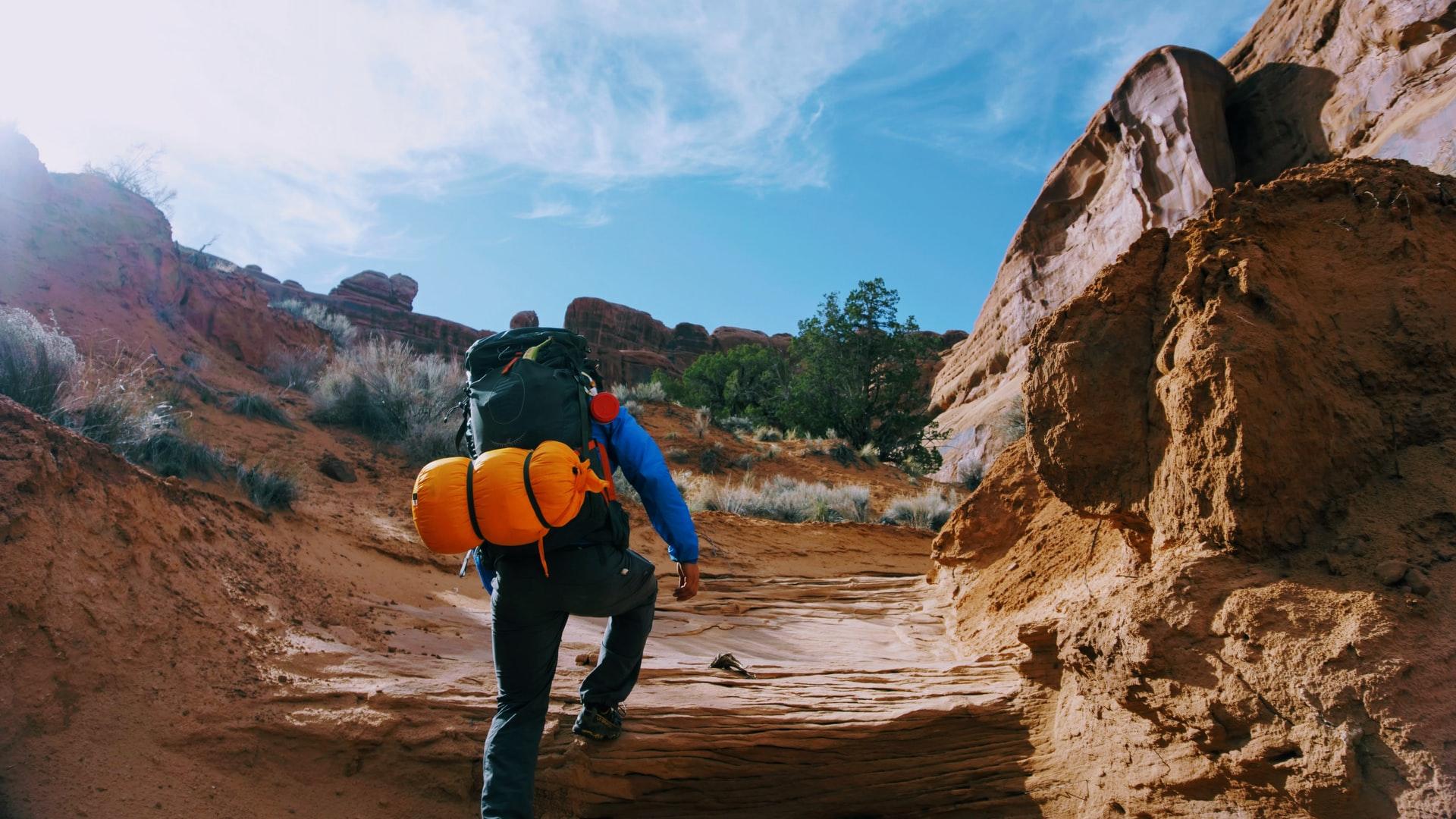 Backpacking Moab (photo: Matt Gross)