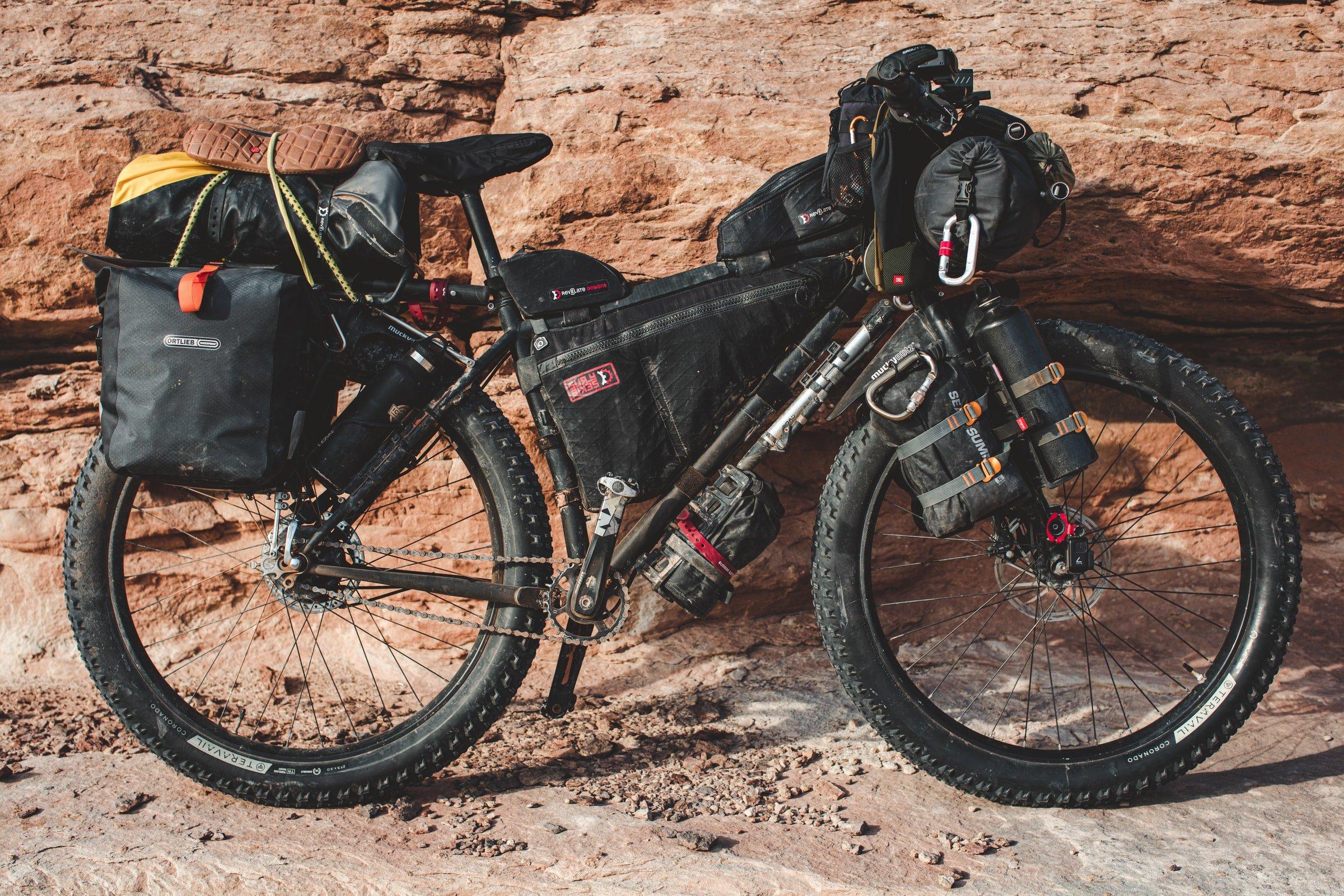 Bikepacking (photo: Patrick Hendry)