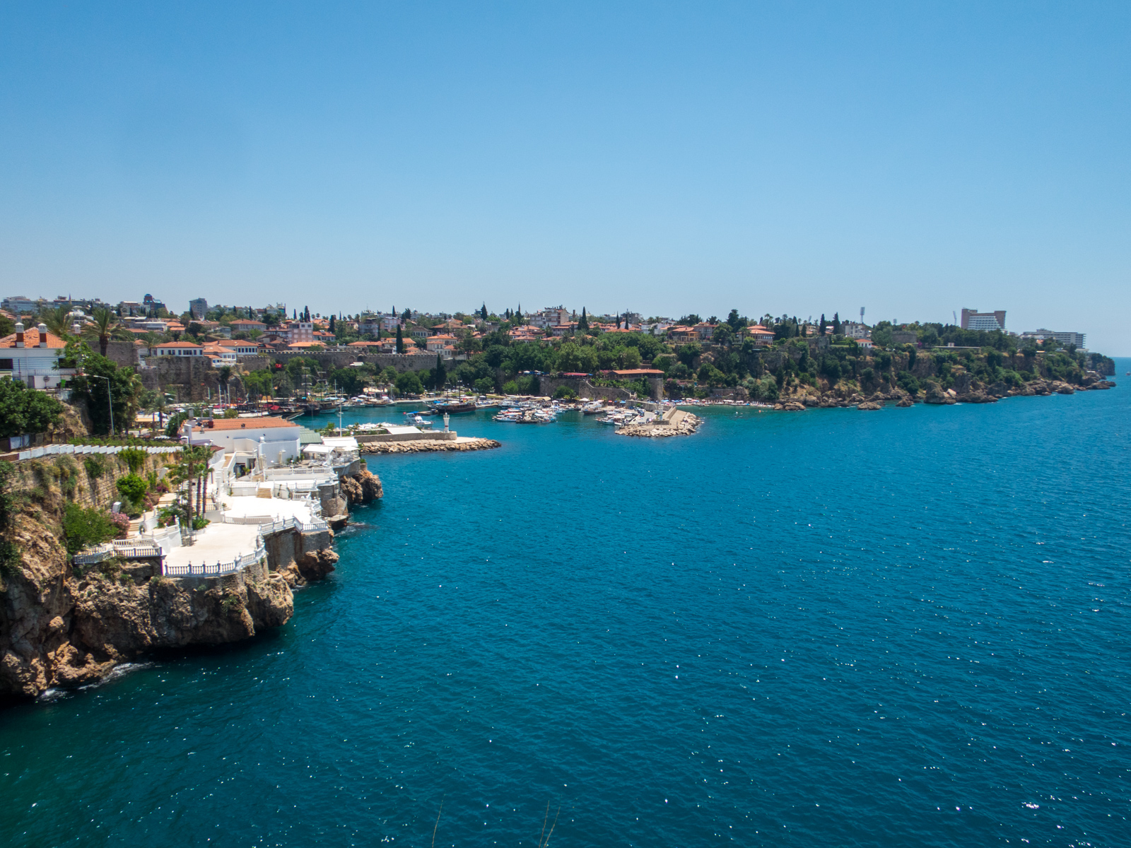 Antalya's ancient city and port