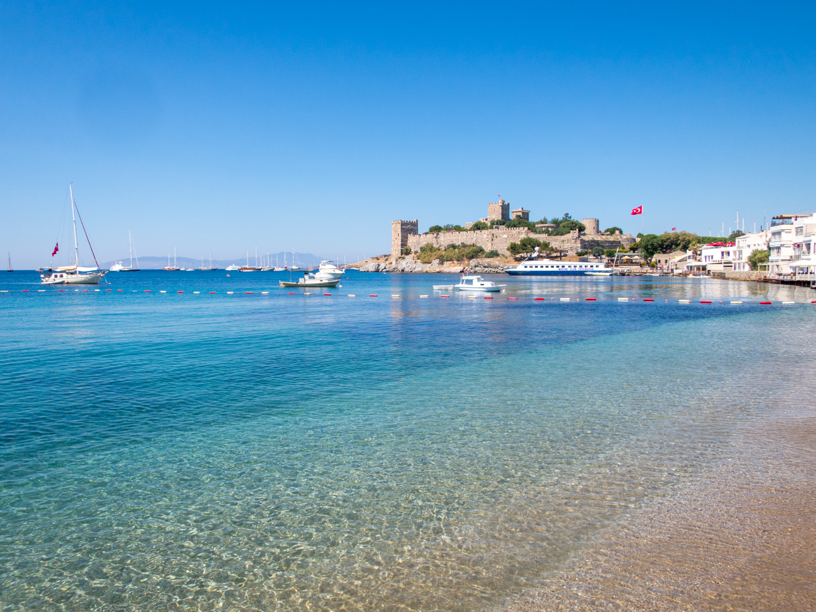 Bodrum Castle on the Turkish Riviera