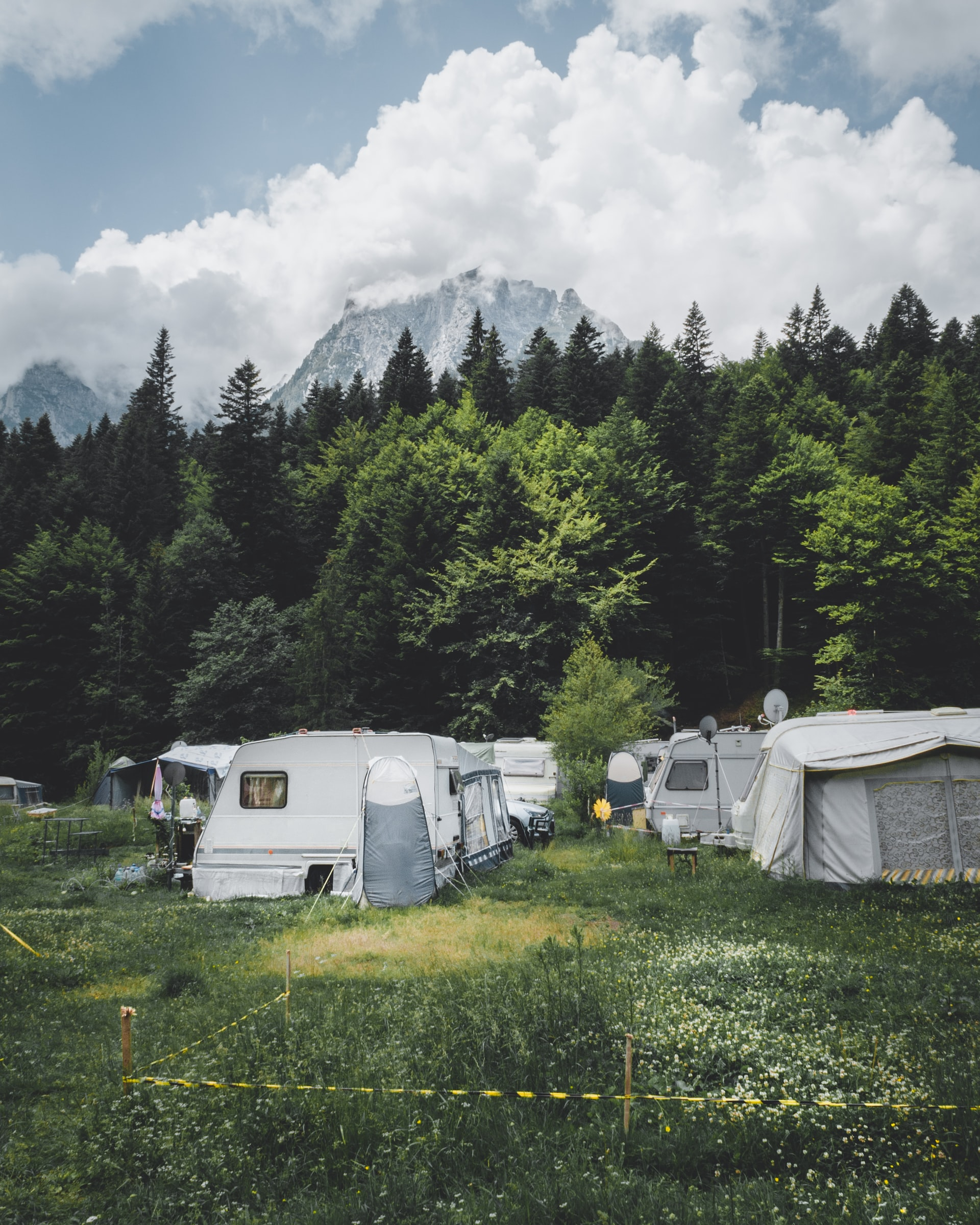 Camping in Romania (photo: Alexandra Mirghe)