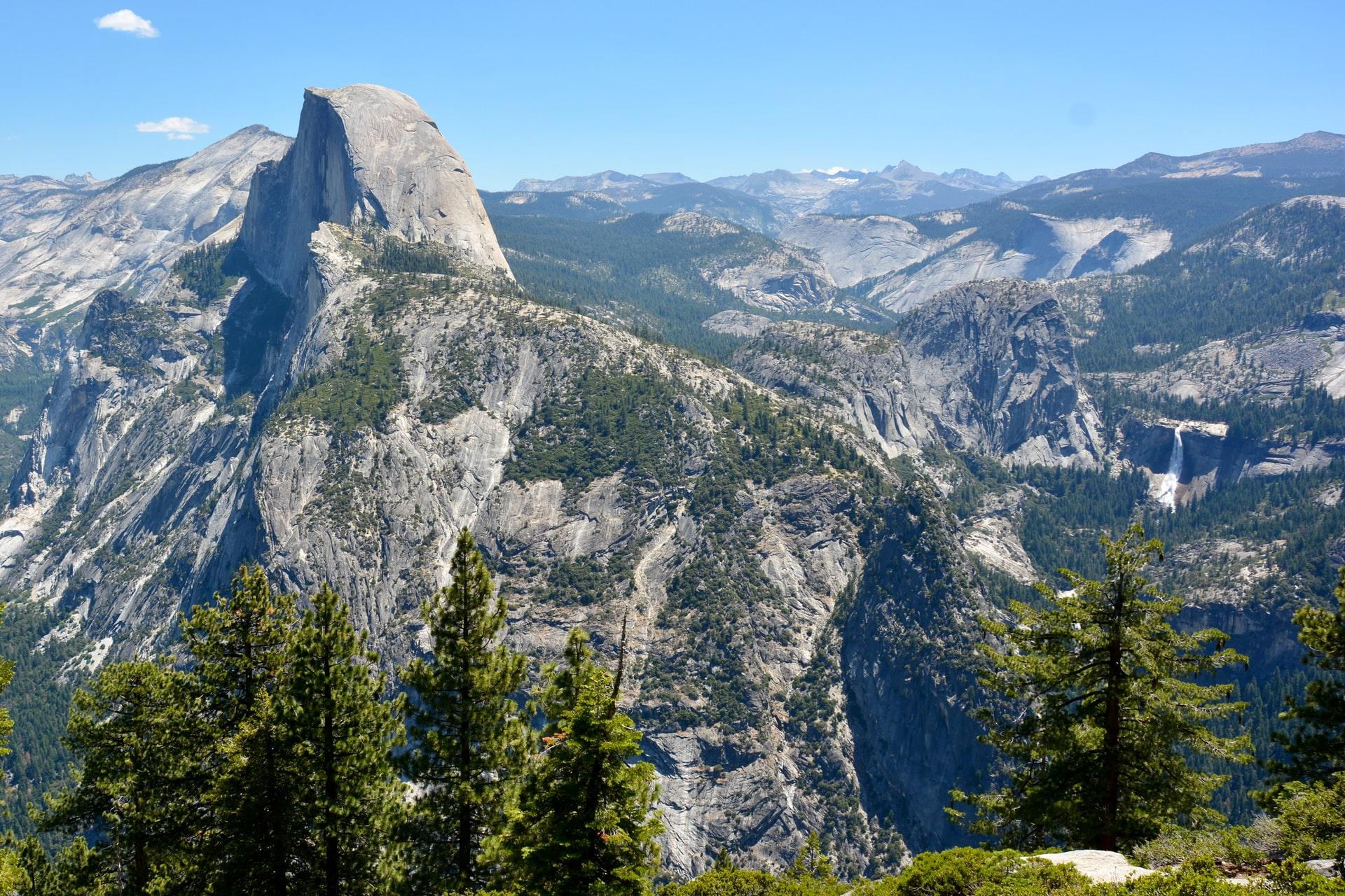 Half Dome and Yosemite landscape (photo: Dan)