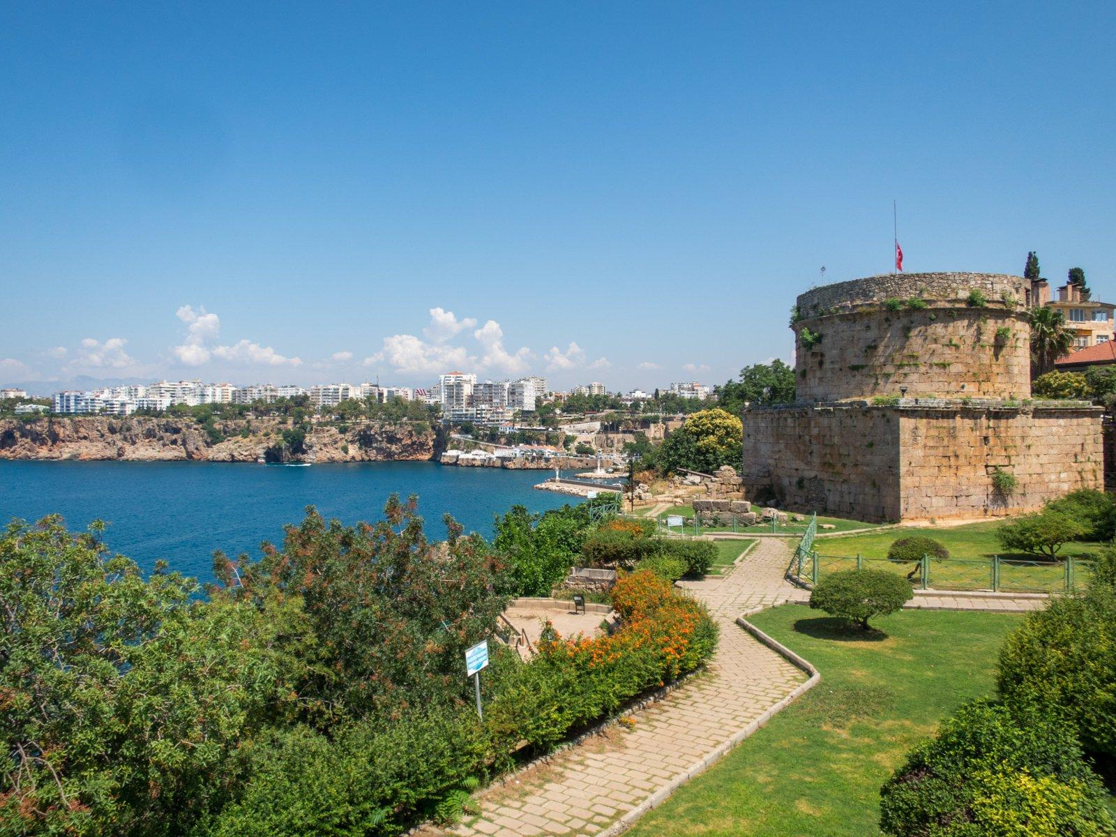 Hidirlik Tower on Turkey's Turquoise Coast