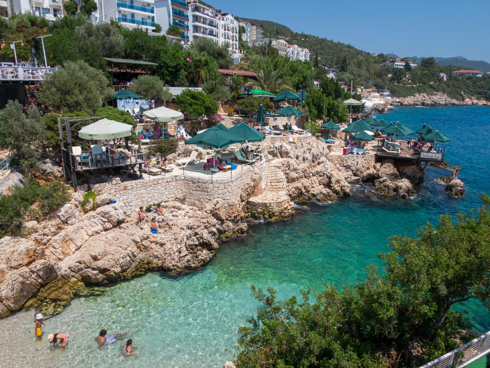 Derya Beach on the Turkish Riviera