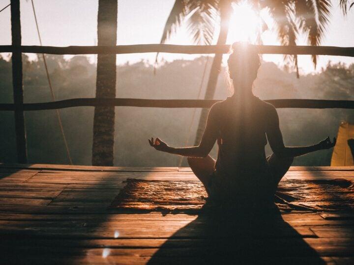 Morning yoga in Ubud, Bali (photo: Jared Rice)
