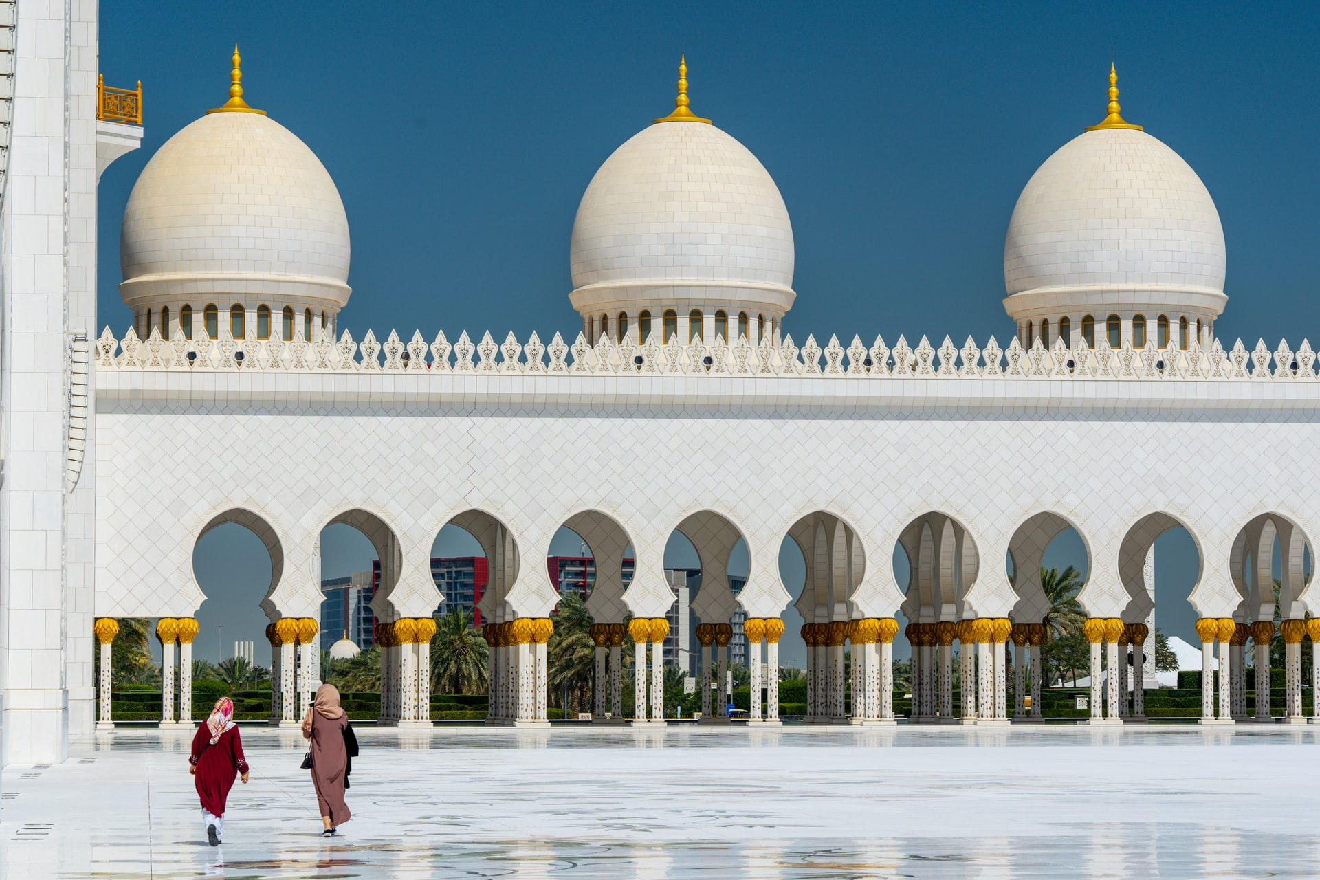 Sheik Zayed Grand Mosque (photo: Nick Fewings)