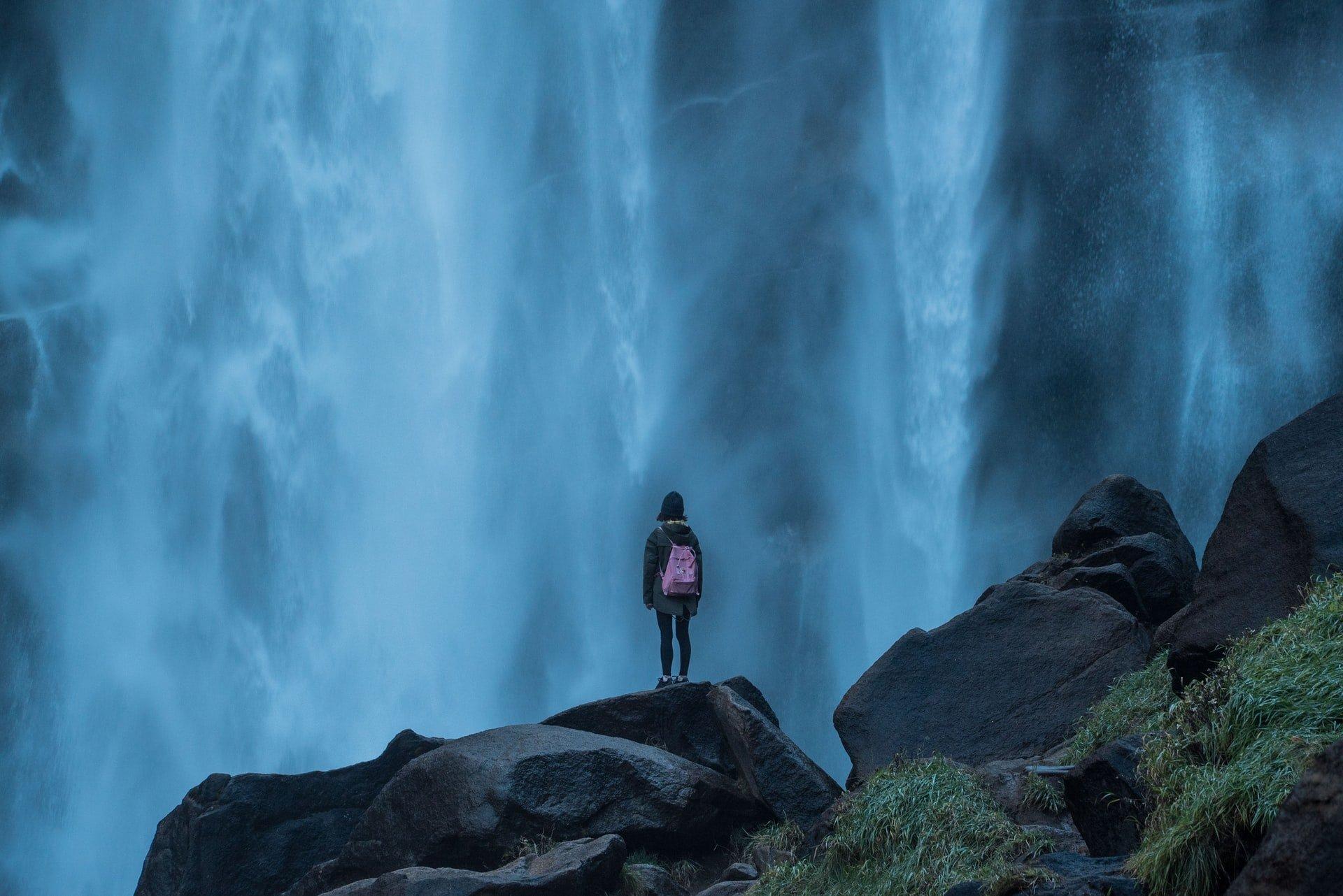 Vernal Falls, Yosemite (photo: Luo Lei)