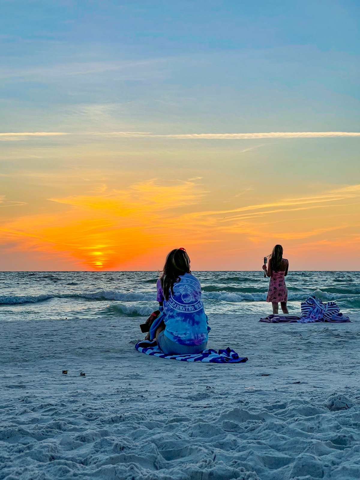 Sunset on Clearwater Beach, FL