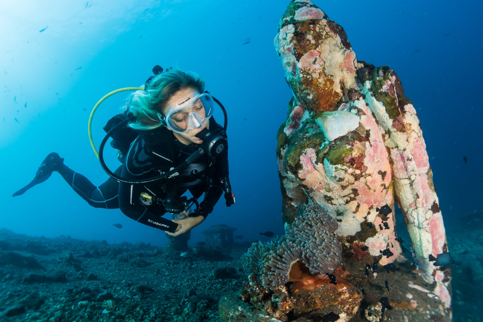 Diving in Bali (photo: Sebastian Pena Lambarri)