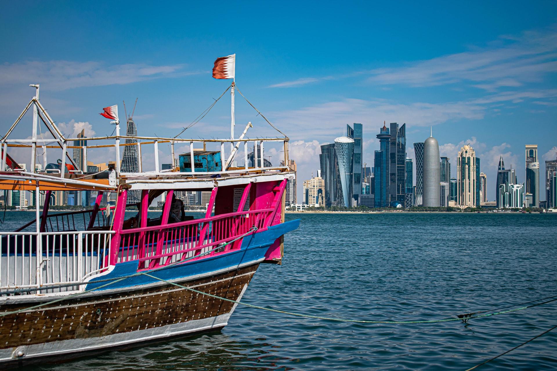 Doha Corniche (foto: Lucca Belliboni)