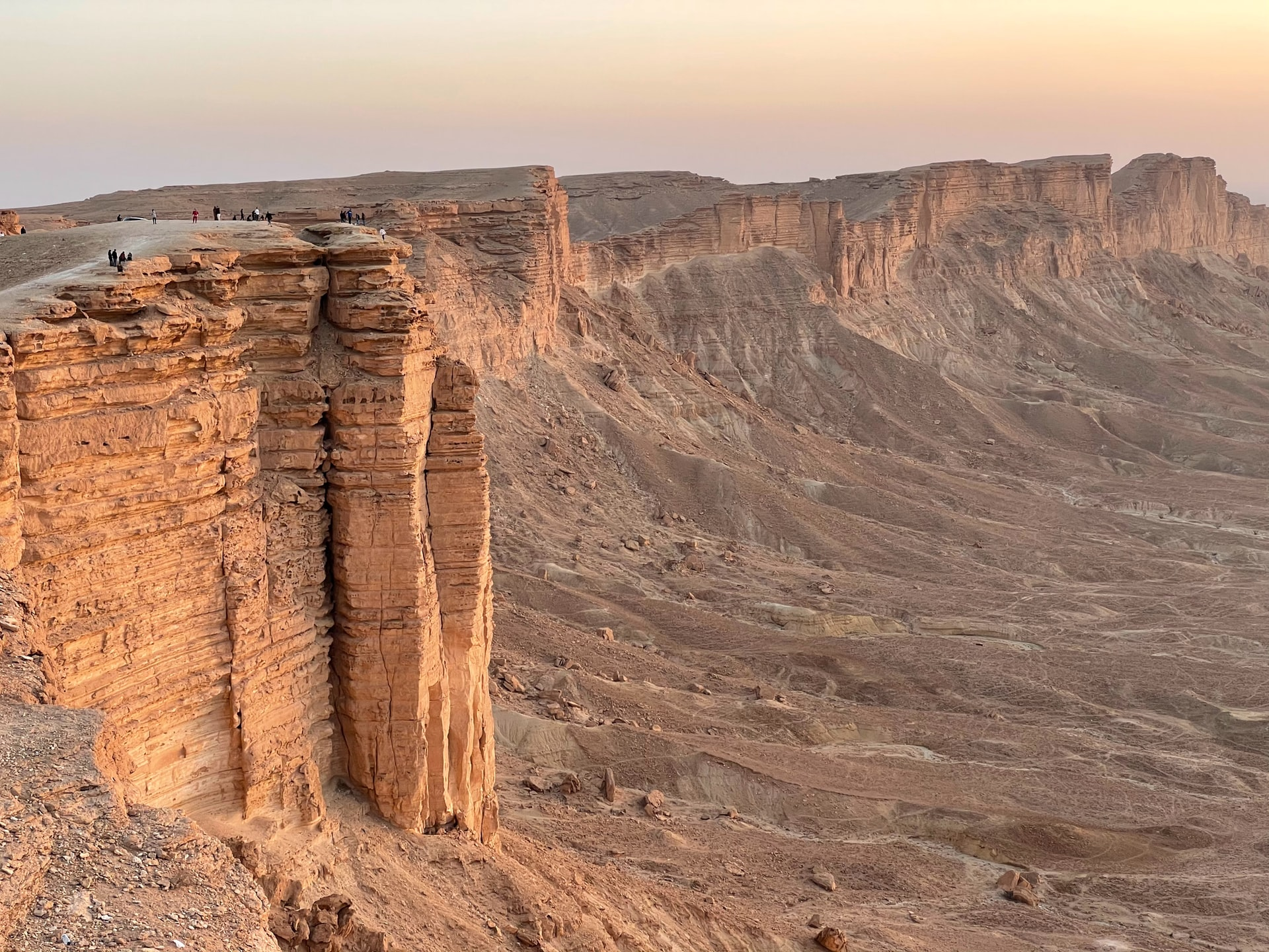 Rand van de wereld (foto: Khalid Elkady)
