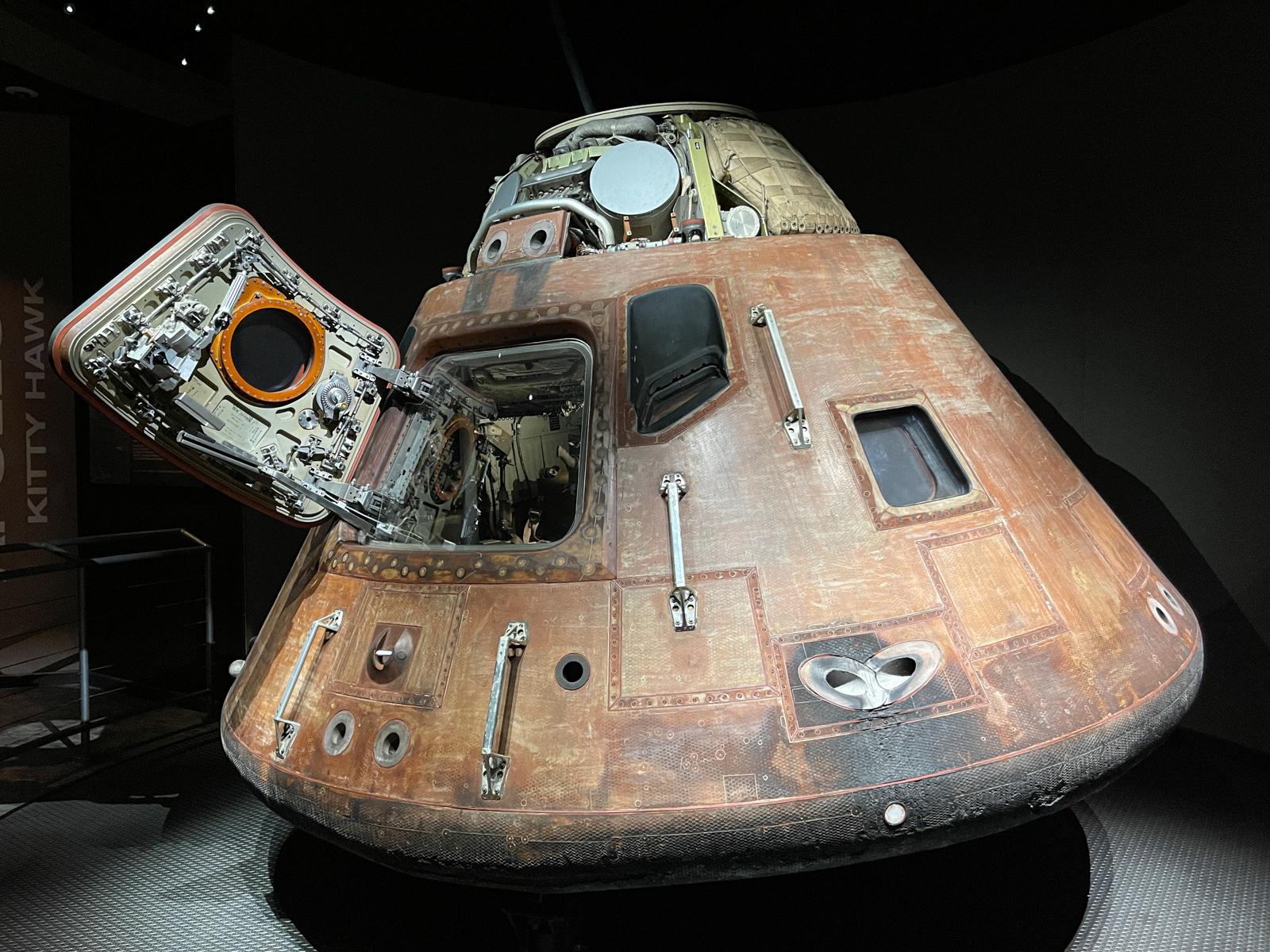 Apollo 14 crew capsule