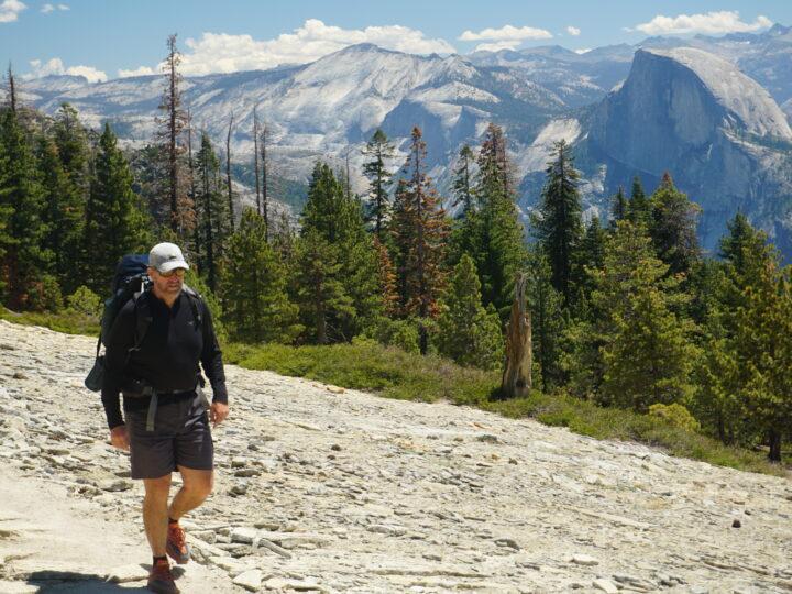 Hiking on El Capitan in Yosemite National Park