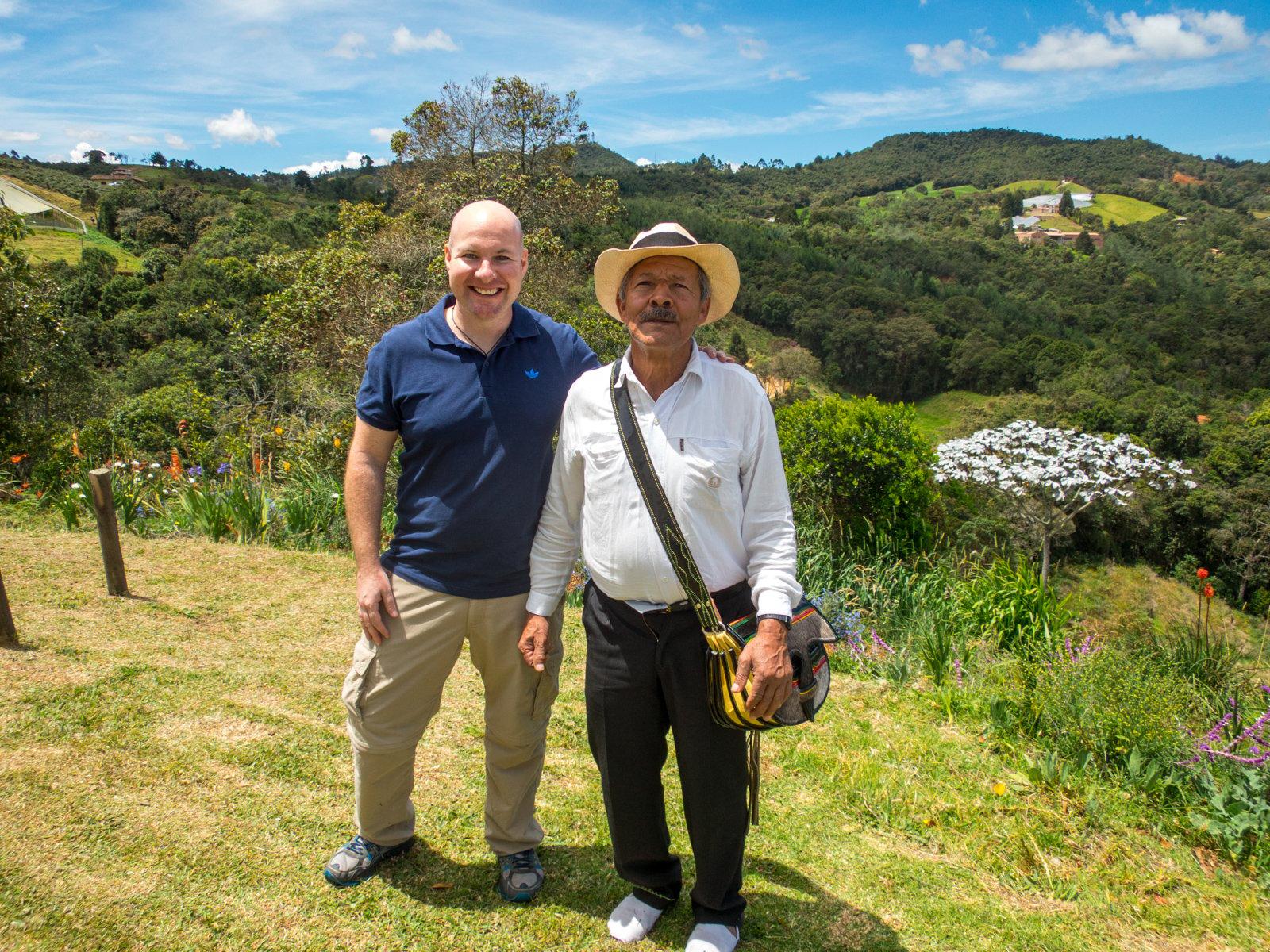 Meeting Don Aristides, an award-winning silletero