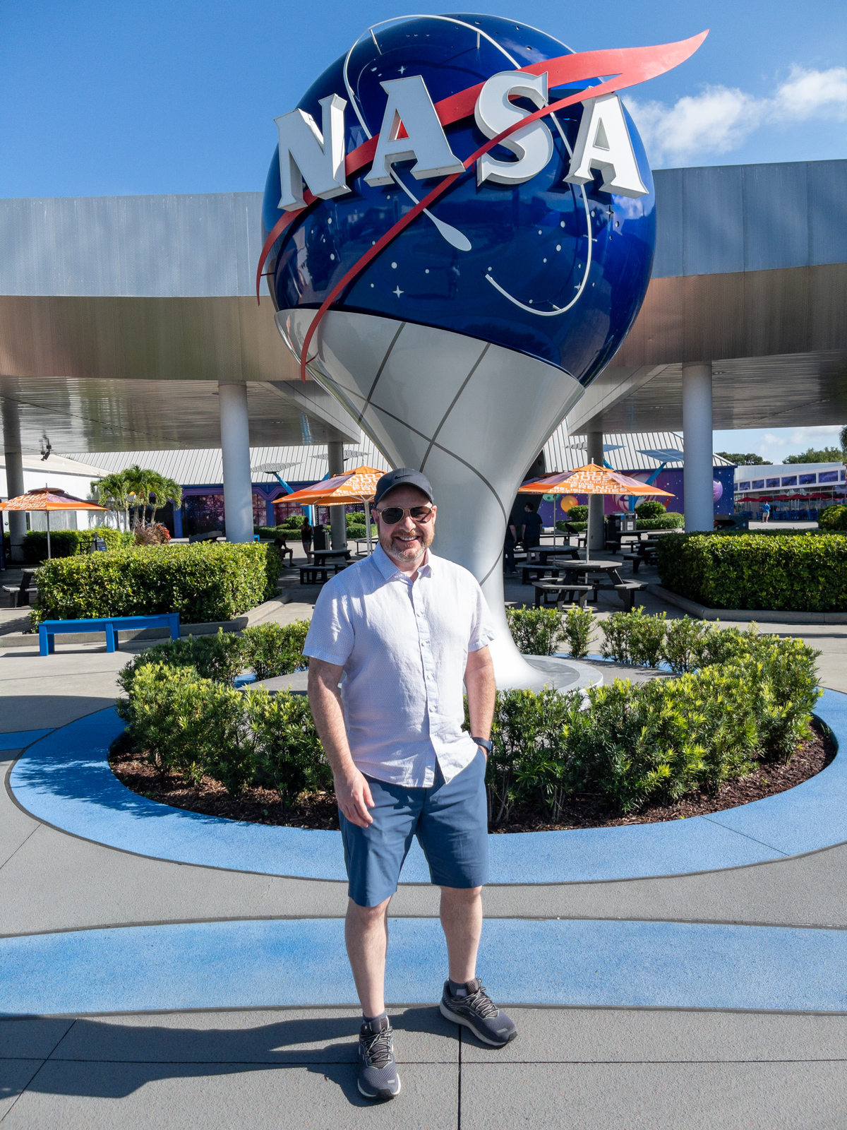 Dave at Kennedy Space Center