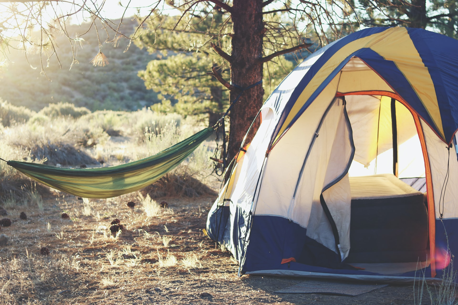 Camping in Los Padres National Forest, USA (photo: Laura Pluth)