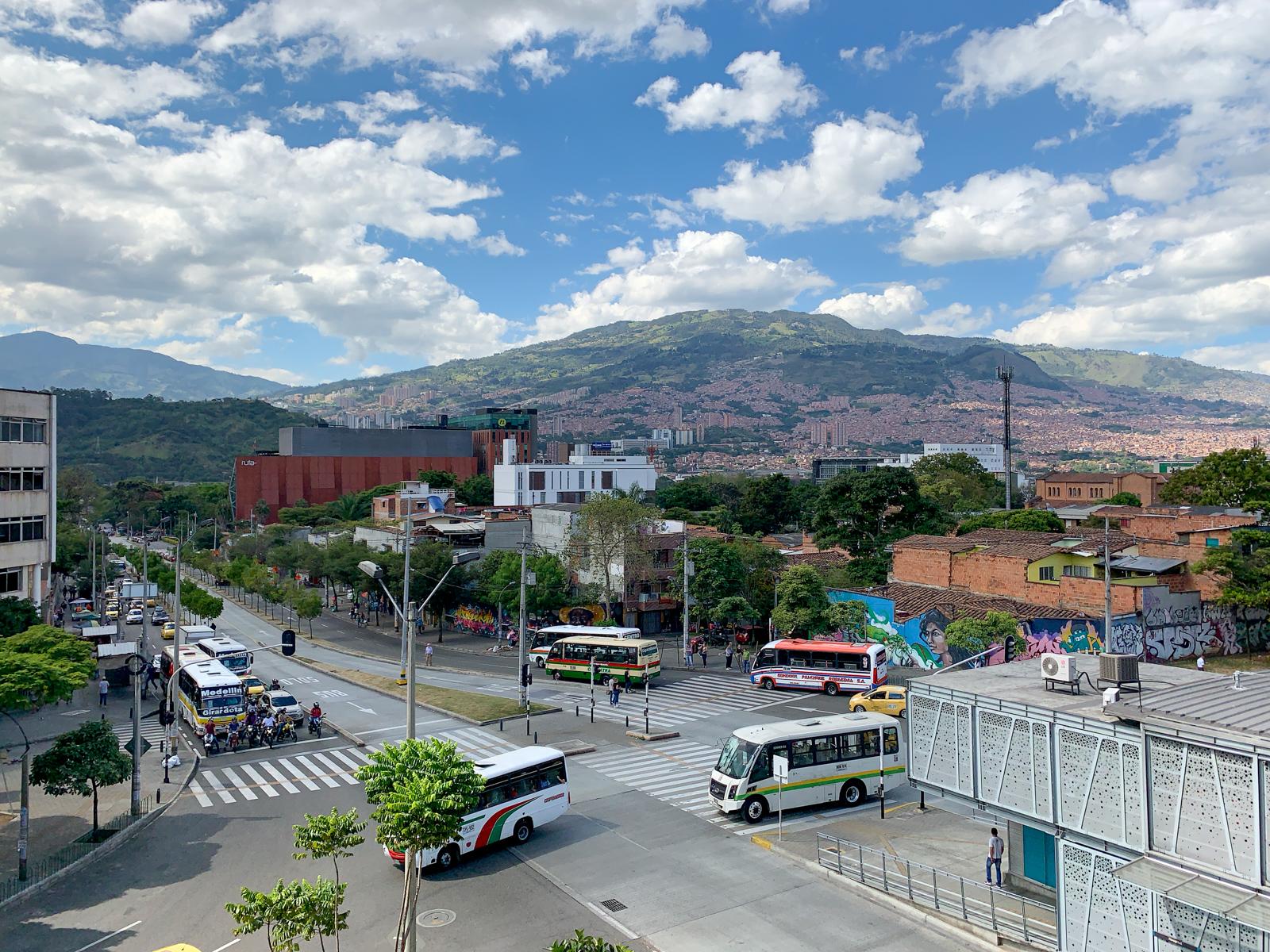 Medellin buses