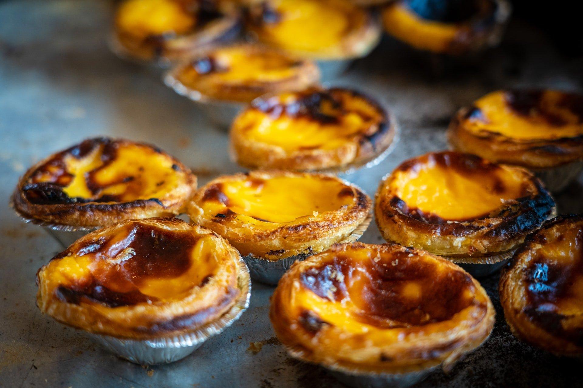 Portuguese egg tart (photo: Nick Fewings)